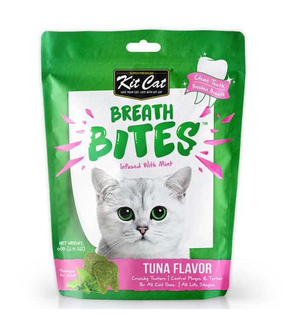 Kit Cat Breath Bites Tuna 60g Cat Treats