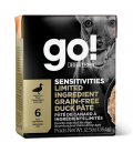 Go! Sensitivities Limited Ingredient Grain-Free Duck Pate 354g Tetra Pak Dog Wet Food/Toppers