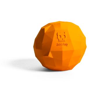 Zee Dog Super Fruitz Orange Dog Toy