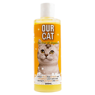Our Cat Tea Tree Oil 250ml Cat Shampoo