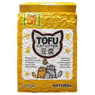 Our Cat Tofu Natural 6L Cat Litter