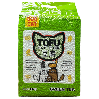 Our Cat Tofu Green Tea 6L Cat Litter