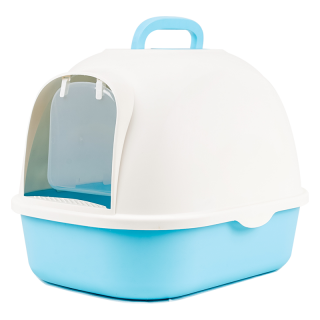 Simple Closed Cover Cat Litter Box