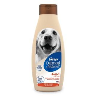 Oster Oatmeal Naturals 4 in 1 Mango Peach 532ml Dog Shampoo