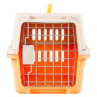Simple Orange Pet Carrier
