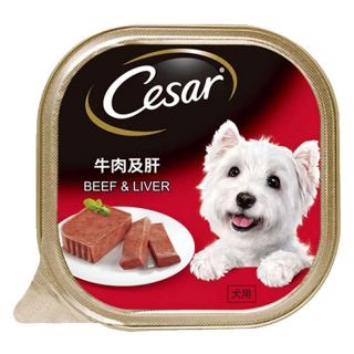 Cesar Beef and Liver 100g Dog Wet Food