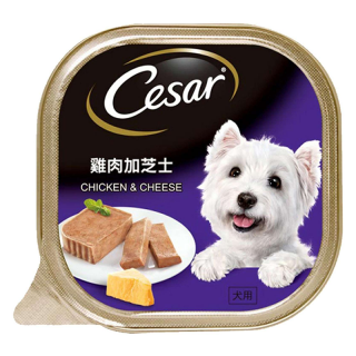 Cesar Chicken & Cheese 100g Dog Wet Food