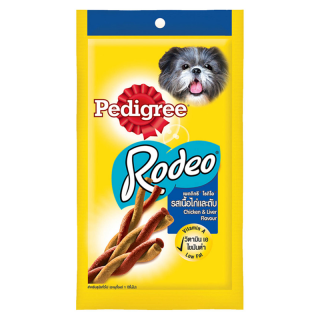 Pedigree Rodeo Chicken and Liver 90g Dog Treats