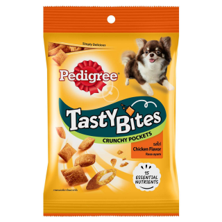 Pedigree Tasty Bites Crunchy Pockets Chicken 60g Dog Treats