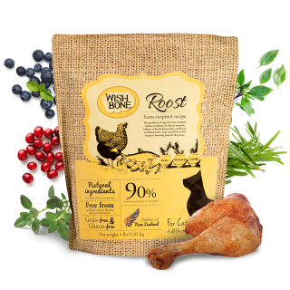 Wishbone Roost Grain-Free Cat Dry Food