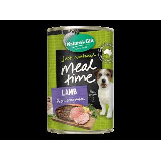 Nature's Gift Meal Time Beef Barley & Vegetables 380g Dog Wet Food