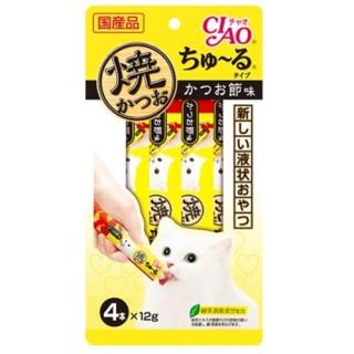 Ciao Grilled Tuna Churu 12g x 4 Cat Treats