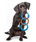 Petstages ORKA Triple Dental Links Dog Chew Toy