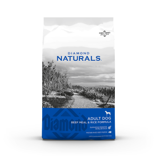 Diamond Naturals Beef and Rice 18kg Dog Dry Food