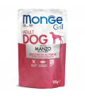 Monge Grill Chunkies with Beef 100g Dog Wet Food