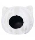 GUGUpet Cat Ear Nest White Pet Bed