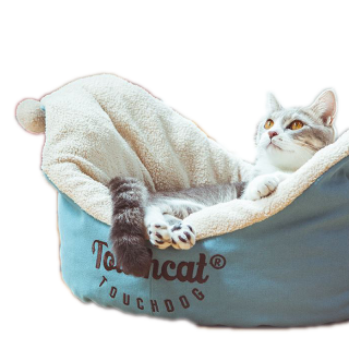 Touchcat Clown Blue Pet Bed
