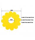 GUGUpet Sunflower Pet Collar