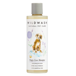 WildWash Natural Pet Care Puppy Love 250ml Dog Shampoo