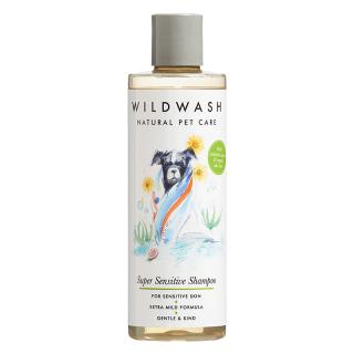 WildWash Natural Pet Care Super Sensitive 250ml Dog Shampoo