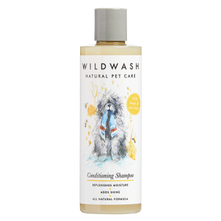 WildWash Natural Pet Care Conditioning 250ml Dog Shampoo
