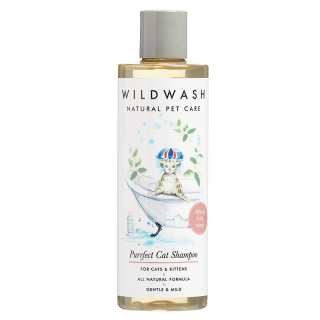WildWash Natural Pet Care Purrfect 250ml Cat Shampoo