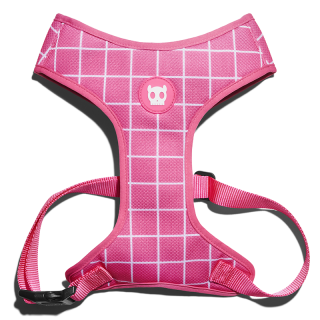 Zee.Dog Pink Wave Dog Air Mesh Plus Harness