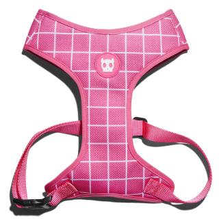 LIMITED EDITION Zee.Dog Air Mesh Vest Pink Wave Dog Harness