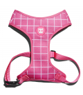 LIMITED EDITION Zee.Dog Pink Wave Air Mesh Plus Dog Harness