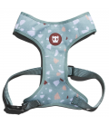 LIMITED EDITION Zee.Dog Terrazo Green Air Mesh Plus Dog Harness