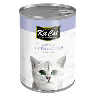 Kit Cat Super Premium Wild Tuna Kitten Mousse 400g Kitten Wet Food