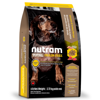 Nutram SMALL BREED CHICKEN & TURKEY Recipe Grain Free Dog Dry Food