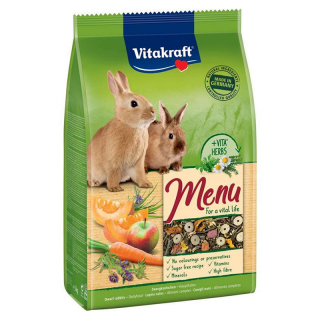Vitakraft Premium Menu Vital Dwarf Rabbit Food