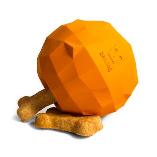 Zee.Dog Super Fruitz Orange Dog Toy