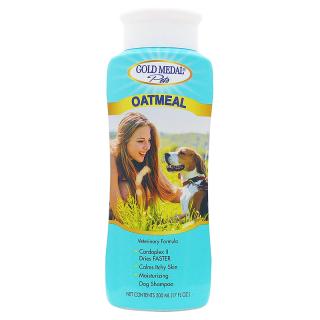 Gold Medal Pets Oatmeal Shampoo 500ml Dog & Cat Shampoo