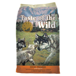 Taste of the Wild High Prairie with Roasted Bison and Roasted Venison Grain Free 12.2kg Puppy Dry Food