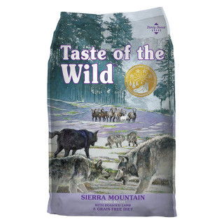 Taste of the Wild Sierra Mountain with Roasted Lamb Grain Free 12.2kg Dog Dry Food