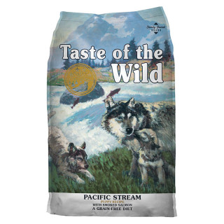 Taste of the Wild Pacific Stream with Smoked Salmon Grain Free 12.2kg Puppy Dry Food