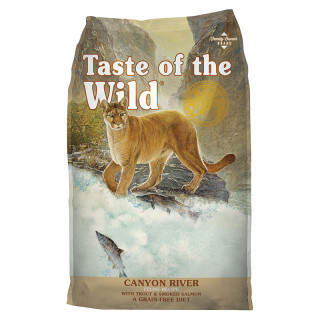Taste of the Wild Canyon River with Trout and Smoked Salmon 6.6kg Cat Dry Food