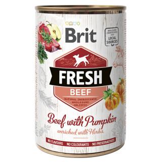 Brit Fresh Beef with Pumpkin 400g Dog Wet Food