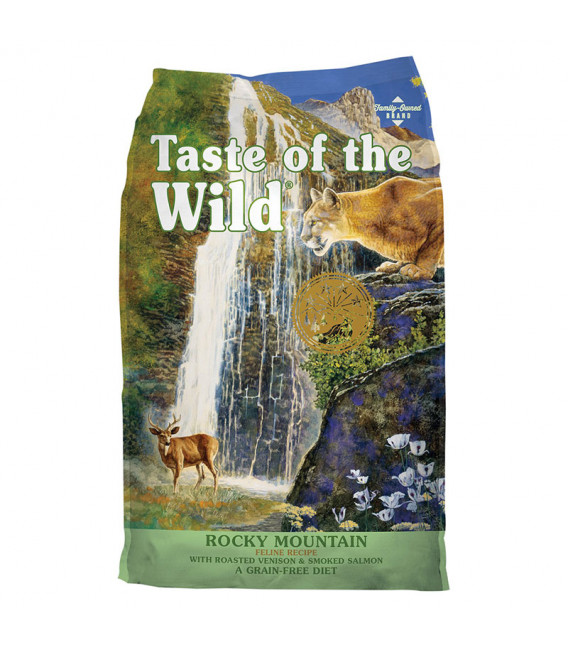Taste of the Wild Feline Rocky Mountain with Roasted Venison & Smoked Salmon 7.6kg Grain Free Cat Dry Food