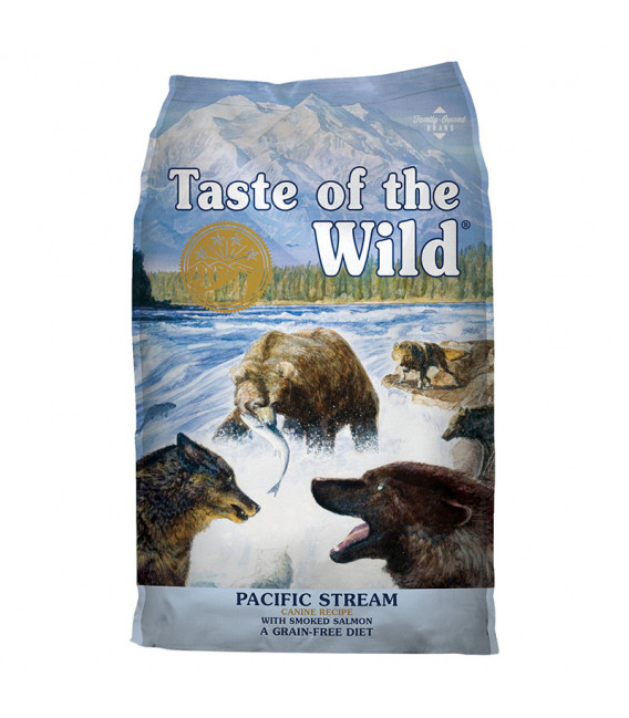 Taste of the Wild Canine Pacific Stream with Smoked Salmon 13kg Grain Free Dog Dry Food