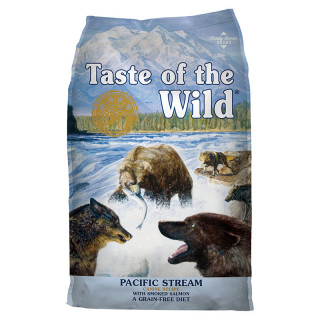 Taste of the Wild Canine Pacific Stream with Smoked Salmon 12.2kg Grain-Free Dog Dry Food