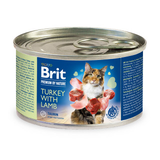 Brit Premium by Nature Turkey with Lamb 200g Cat Wet Food