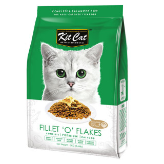 Kit Cat Fillet 'O' Flakes Cat Dry Food