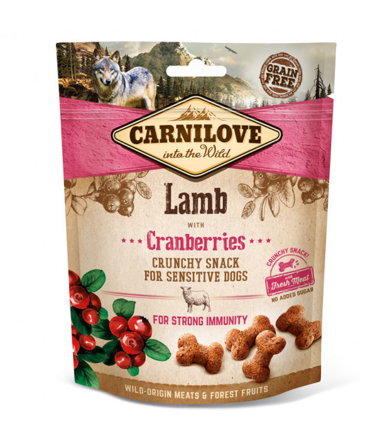 Carnilove Crunchy Snack Lamb with Cranberries 200g Dog Treats