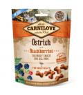 Carnilove Into the Wild Crunchy Snack Ostrich with Blackberries 200g Dog Treats