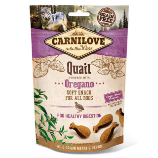Carnilove Into the Wild Soft Snack Quail with Oregano 200g Dog Treats