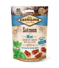 Carnilove Into the Wild Crunchy Snack Salmon with Mint 50g Cat Treats