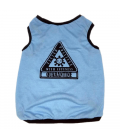 LIMITED EDITION Pawsh Couture QuaranTees Positive with Cuteness Sky Blue Pet Tee